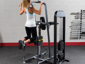 PRO-SELECT WEIGHT ASSISTED CHIN-DIP MACHINE
