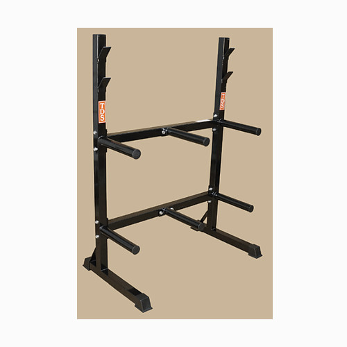 FRONT LOADING RACK SYSTEM FOR RUBBER & IRON PLATES