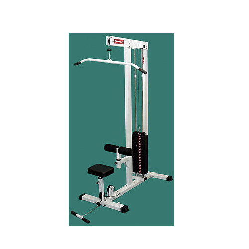 LAT/ROW MACHINE WITH 250 & 400 LB. WEIGHT STACKS