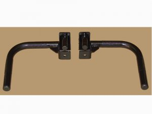 """Price for a set. 1"""" Solid Steel Pin Self Locking Professionally Knurled Handles Available for 2"""", 2 1/2"""" & 3"""" Sq. Tubes with 1"""" diameter holes Weight Capacity 250 lbs Easy to Lock & Unlock"""