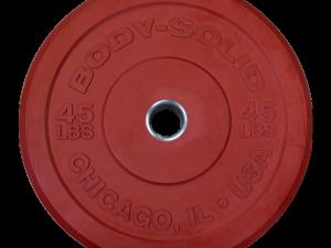 45LB. CHICAGO EXTREME COLORED BUMPER PLATES