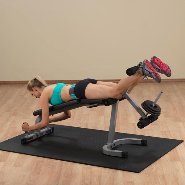 POWERLINE LEG EXTENSION & CURL MACHINE