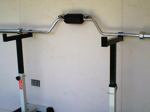 PUKENSVET BAR 1000 LB SAFETY CAMBERED OLYMPIC BAR COMBO (2)