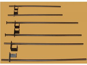 """SAFETY BARS FOR POWER RACKS WIDE POWER RACK WITH 3"""" SQ. TUBE 40"""" LONG"""