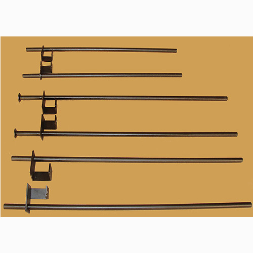 "SAFETY BARS FOR POWER RACKS WIDE POWER RACK WITH 3"" SQ. TUBE 40"" LONG"