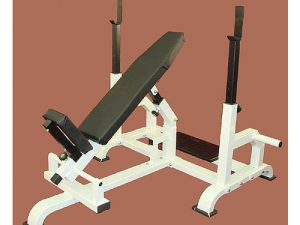 TITAN ADJ. INCLINE BENCH WITH SPOTTER STAND
