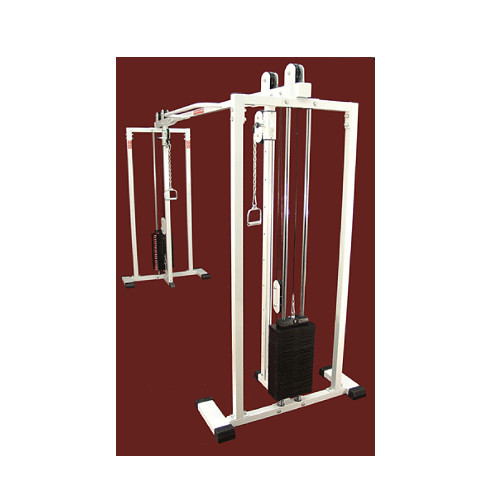 UNIVERSAL CROSS OVER UNIT WITH 2 X 200 LB. STACKS